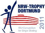 Logo NRW ISU Competition for Single Skating 2011