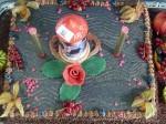 Treffen Pixeleispartner 2012 - Eine Torte als Geschenk