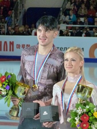 Tanja und Max beim Cup of Russia