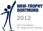 Logo isu competition for single skating 2012