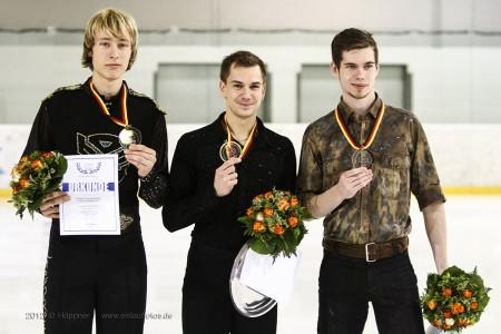 Siegerehrung Herren DM 2013