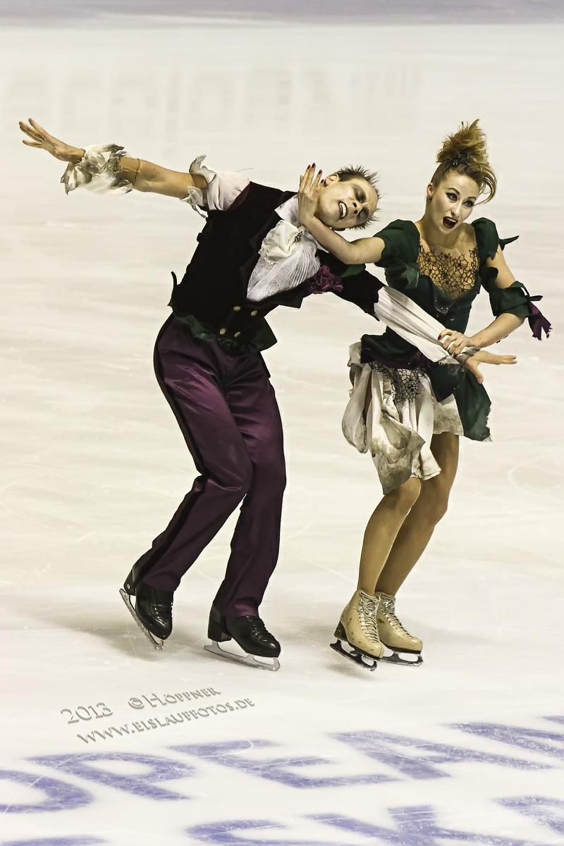 Nelli ZHIGANSHINA und Alexander GAZSI (GER)