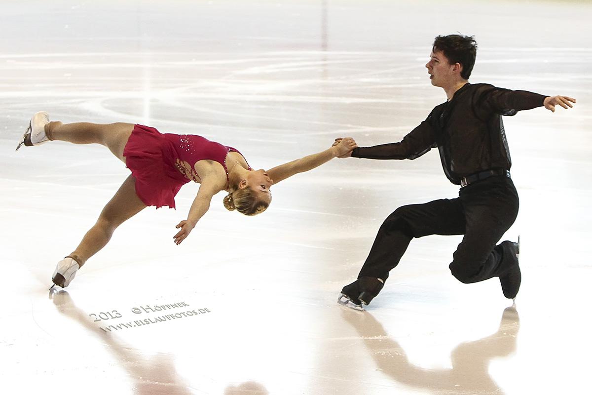 Fabienne SPERLING und Philip BECKER