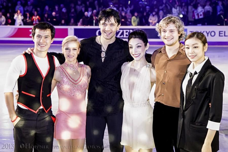 Die Eiskunstlauf Weltmeister 2013