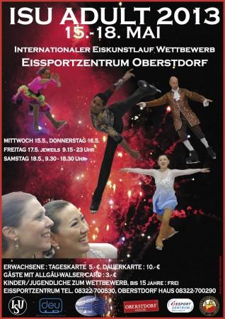 Plakat ISU Adult 2013