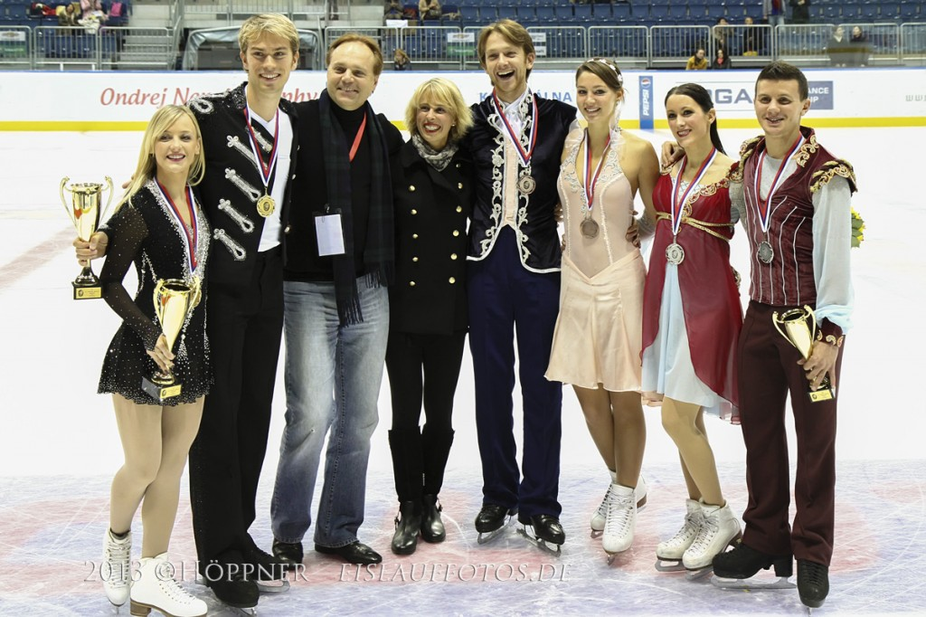 ONT 2013 Ice Dance Sieger