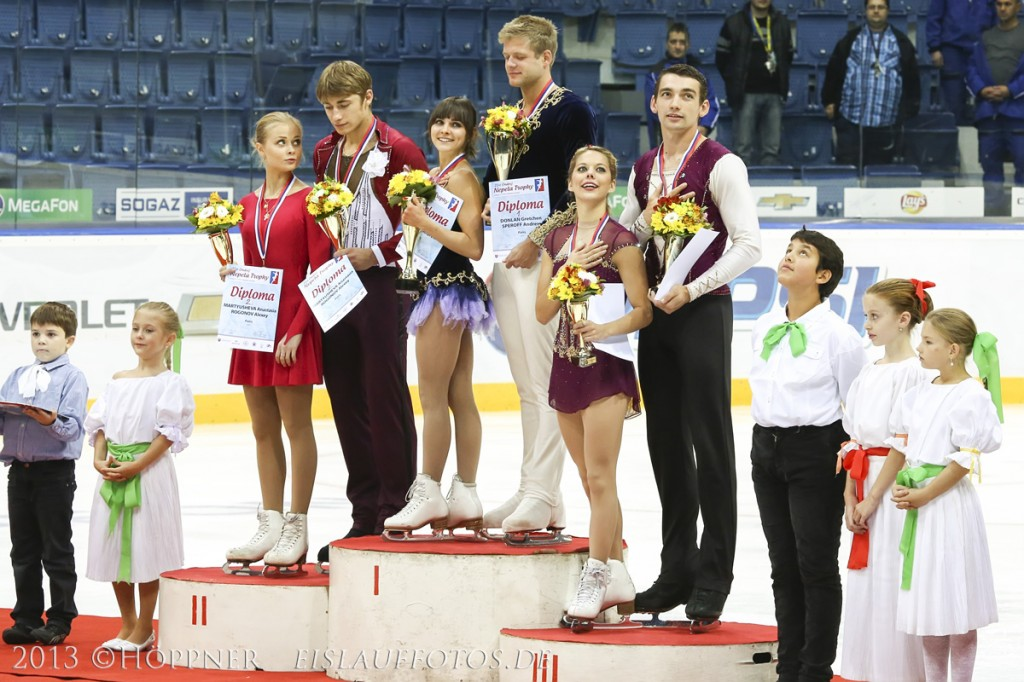 Siegerehrung Paare ONT 2013