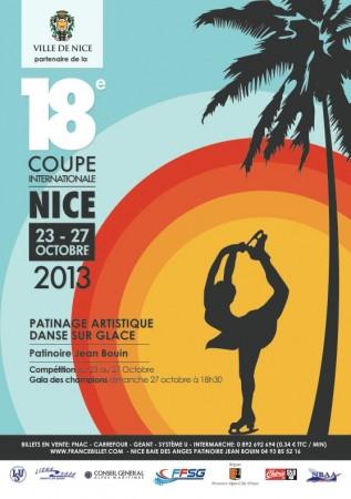 Plakat Coupe International Nice 2013