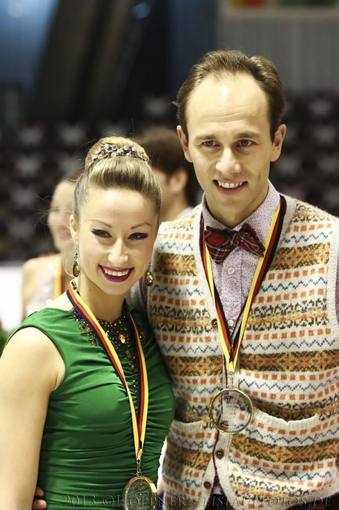 Sieger Eistanz Nelli & Alex