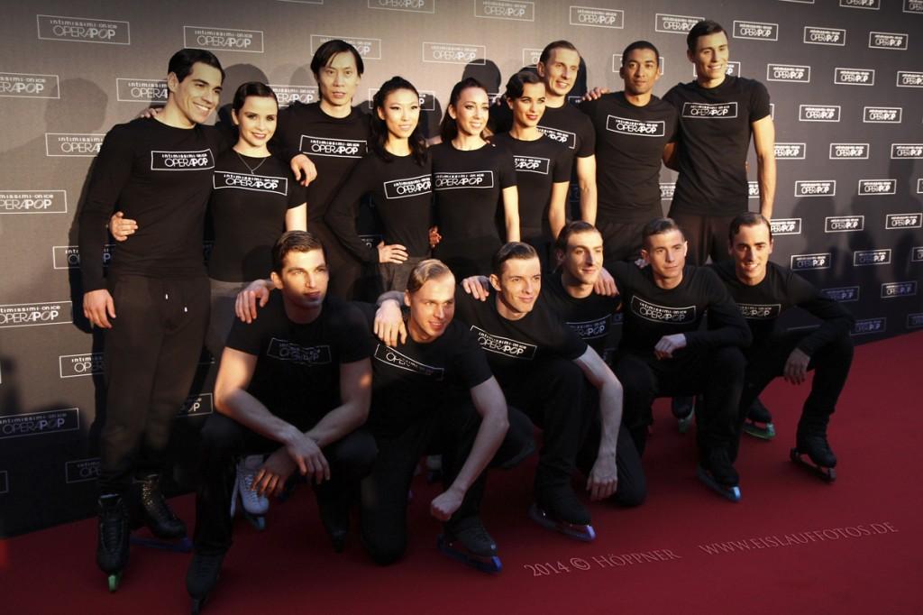 Gruppenbild Opera Pop Verona 2014